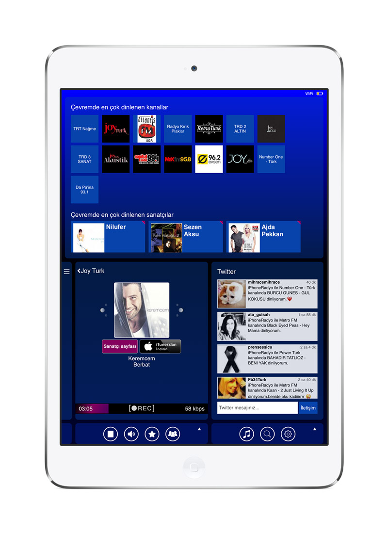 RADYO for iPad